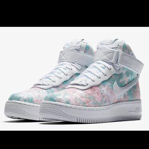 """Nike Air Force 1 """"Glass Slipper"""" Upstep Hi LX sz10"""